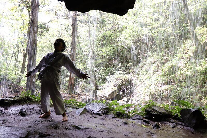 岩井滝(iwai-waterfall)