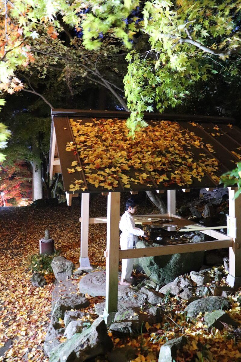 Chozuya (also pronounced Temizuya) Bodai-ji
