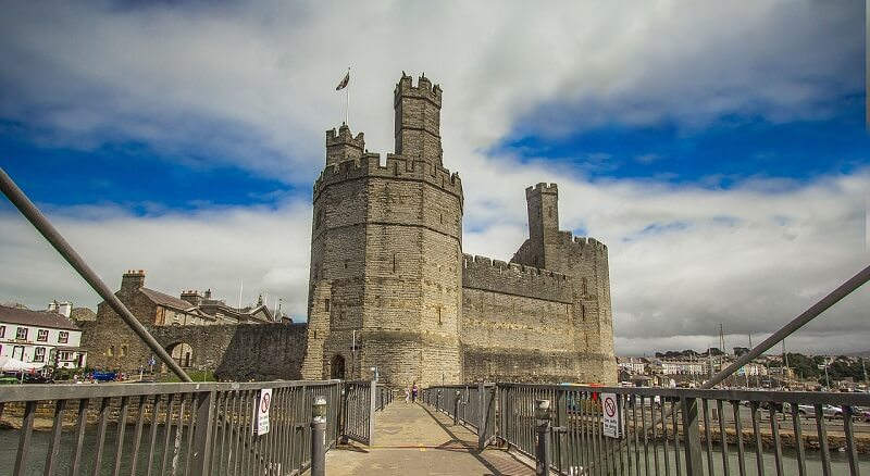 Caernarfon(カーナヴォン)・Wales(イギリス)