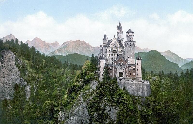 Neuschwanstein Castle(ノイシュヴァンシュタイン城)