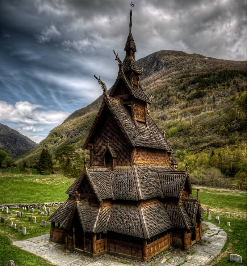 Borgund Stave Church(ボルグンド・スターヴ教会)