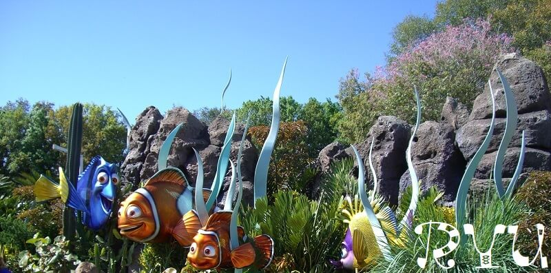 Finding Dory(ファインディング・ドリー)Finding Nemo(ファインディング・ニモ)