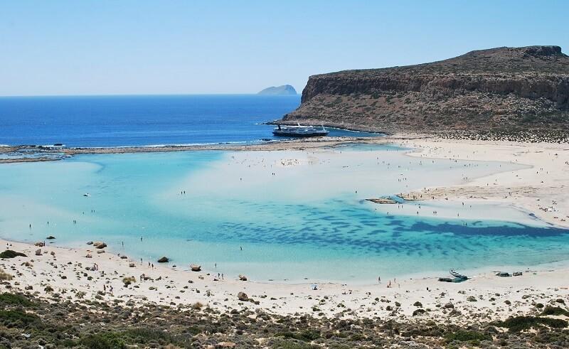 ギリシャ:バロス ラグーンBalos Lagoon(Kissamos, Greece)