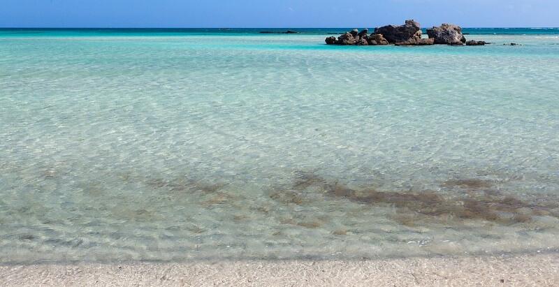 ギリシャ:エラフォ二シ ビーチElafonissi Beach(Elafonissi, Greece)