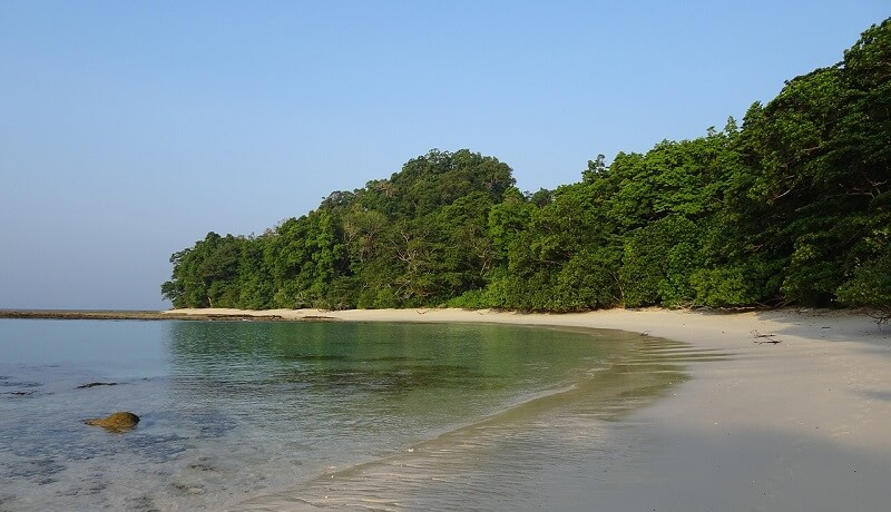 アンダマン・ニコバル諸島ラドハンガービーチRadhanagar Beach(Havelock Island, Andaman and Nicobar Islands)