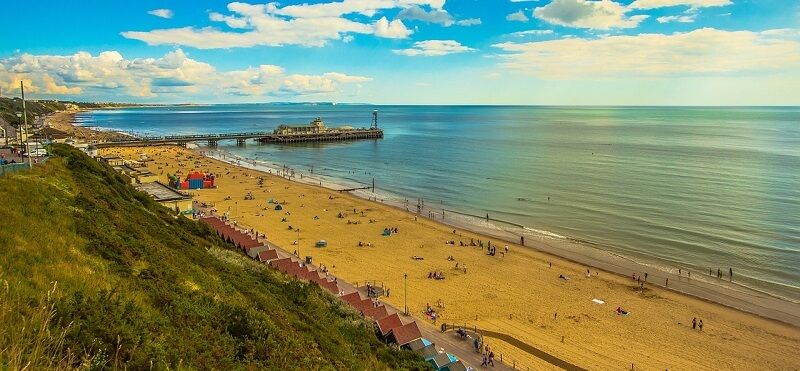 イギリス:ボーンマスビーチBournemouth Beach(Bournemouth, United Kingdom)