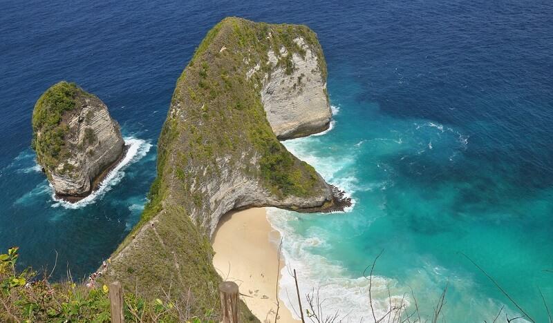 インドネシア:Kelingking Beach(Nusa Penida, Bali)