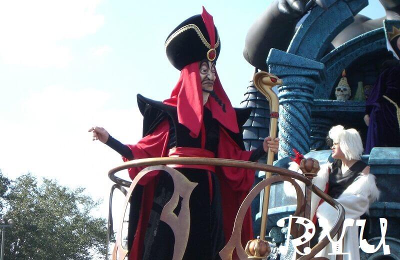 Disney Villains(アラジンのジャファー)