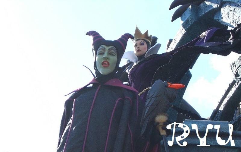 Disney Villains(マレフィセントとイーヴィルクイーン)