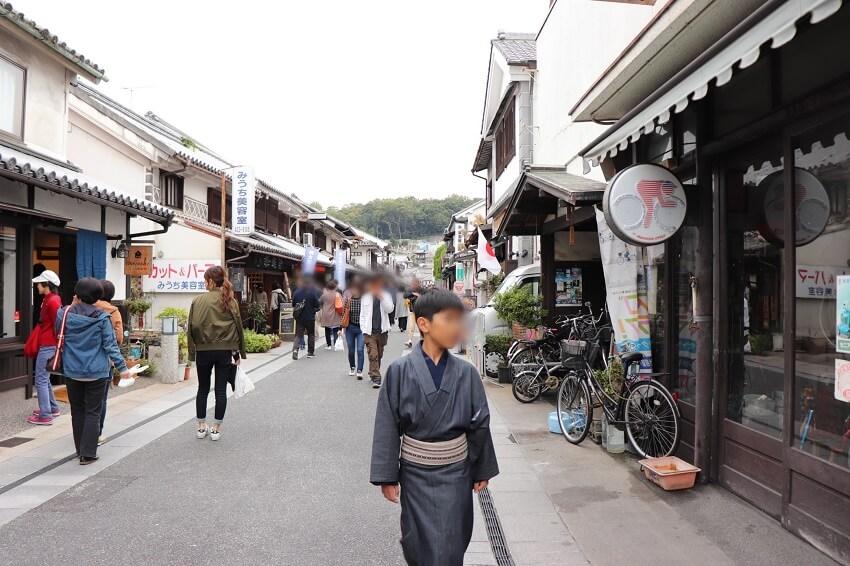 """デニム着物(modern-style kimono """"denim kimono"""")"""